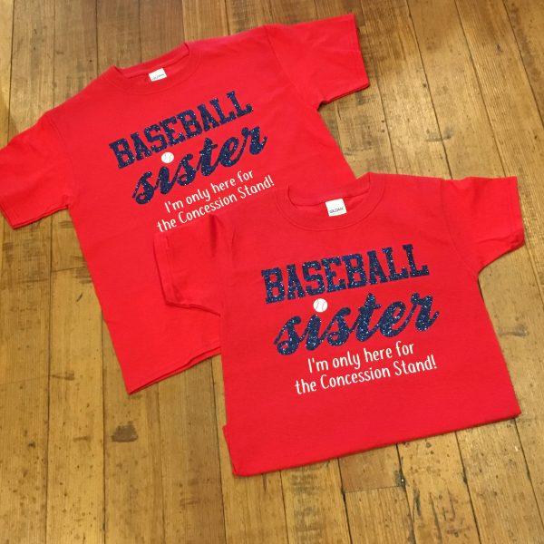 RS Baseball Sister Tee