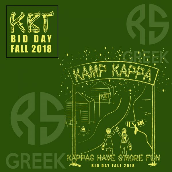 RS Greek Kamp Kappa Bid Day Fall 2018 Detail